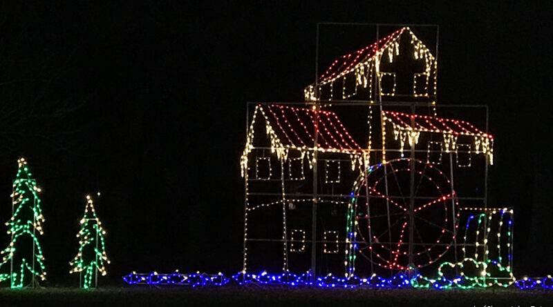 The Joy of Christmas Light Display