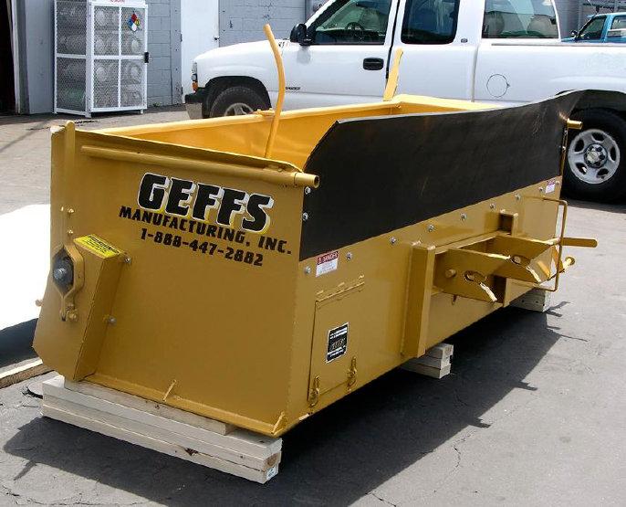 image of geffs chip spreader tailgate spreader