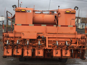 image of chip spreader front hopper