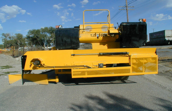 image of Geffs chip spreader side delivery system
