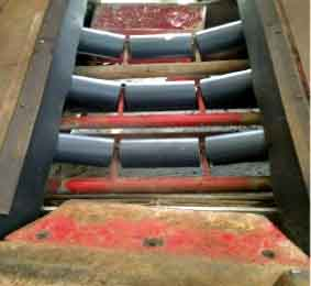 image of troughing rollers