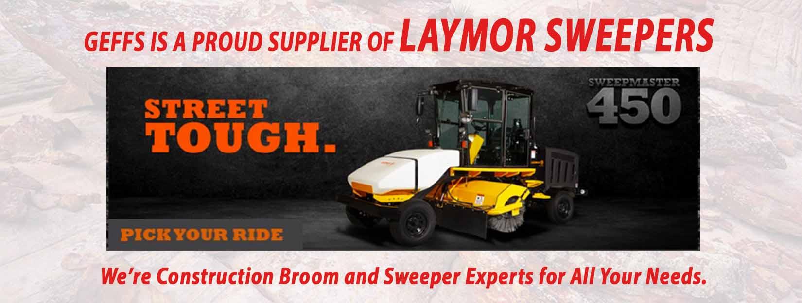 image of GEFFS LayMor Sweeper Slider