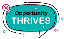 Logo for Opportunity Thrives
