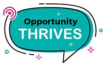 Logo for Opportunity Thrives