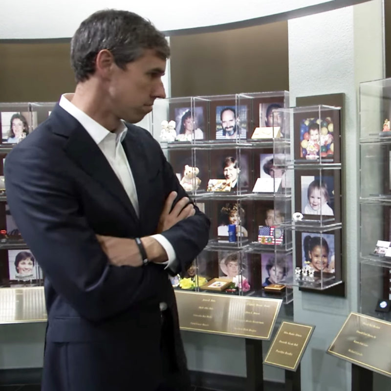 Beto O'Rourke Visits Museum
