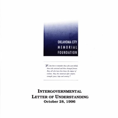 Intergovernmental Letter of Understanding