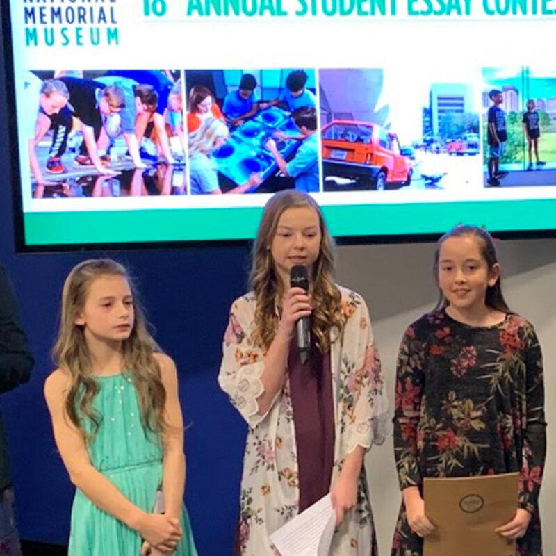 Essay Contest Winners Recognized