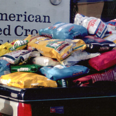Donated Dog Food