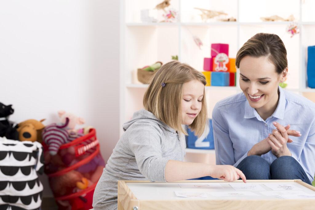 Girl receiving Neuropsychological Assessment