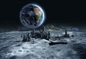 create a space settlement