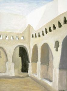 Ghadames-courtyard