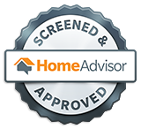 HomeAdvisor Screened & Approved badge