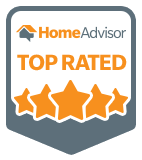 HomeAdvisor Top Rated Badge