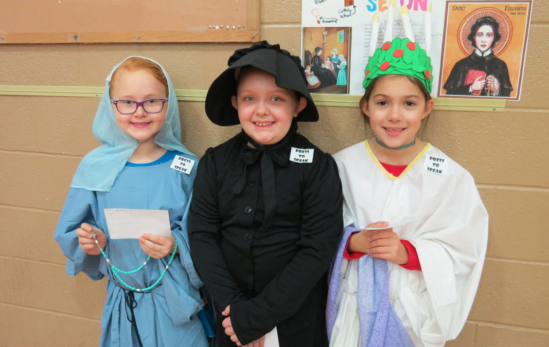 3rd-4th Grade Saints Wax Museum