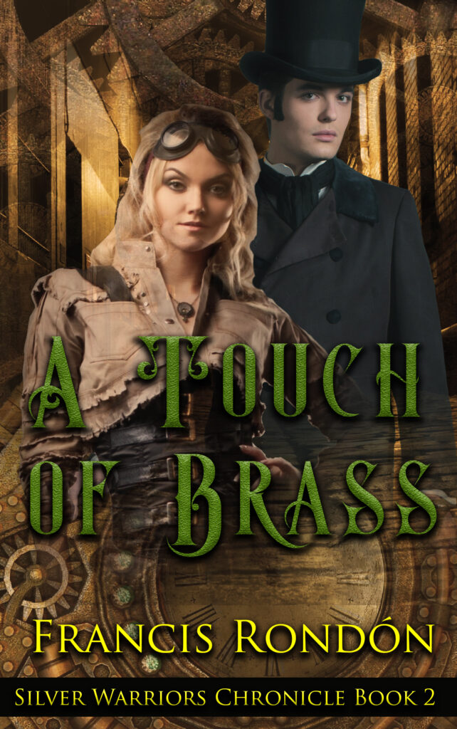 Book Cover: A Touch of Brass