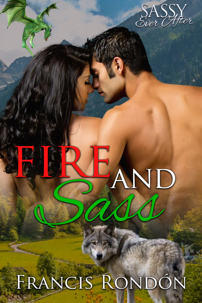 Book Cover: Fire and Sass