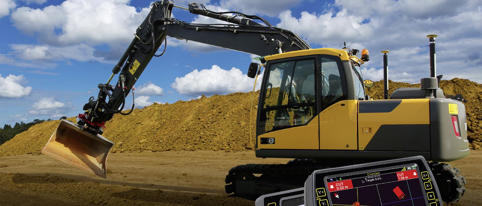 Permalink to:Excavator Machine Control
