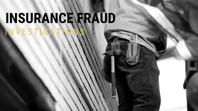 workers compensation fraud investigations