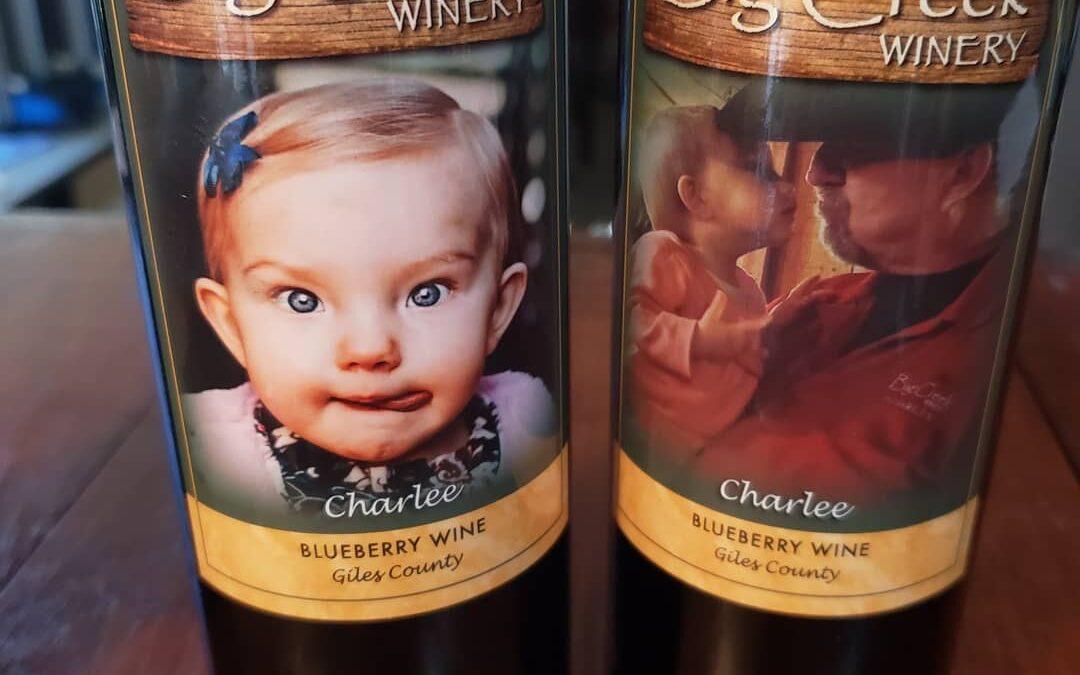 Charlee wine labels