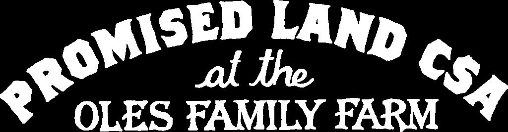 Promised Land CSA logo