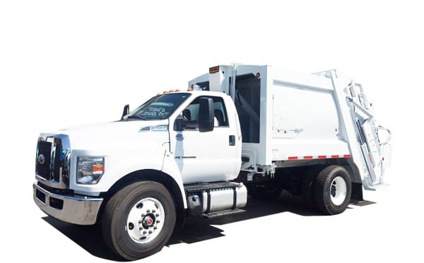 Non CDL Rear Loader Garbage Trucks For Sale