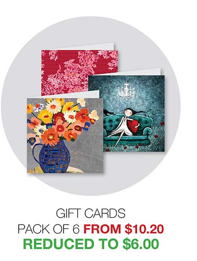 2020 Clearance Gift Cards - Reduced to $6.00
