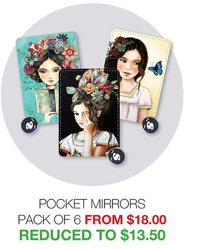 2020 Clearance Pocket Mirrors - Reduced to $13.50