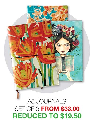 2020 Clearance A5 Journals - Reduced to $19.50
