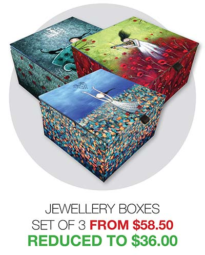2020 Clearance Jewellery Boxes - Reduced to $36.00