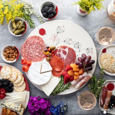 Ezme Designs Food on Platters and Plates
