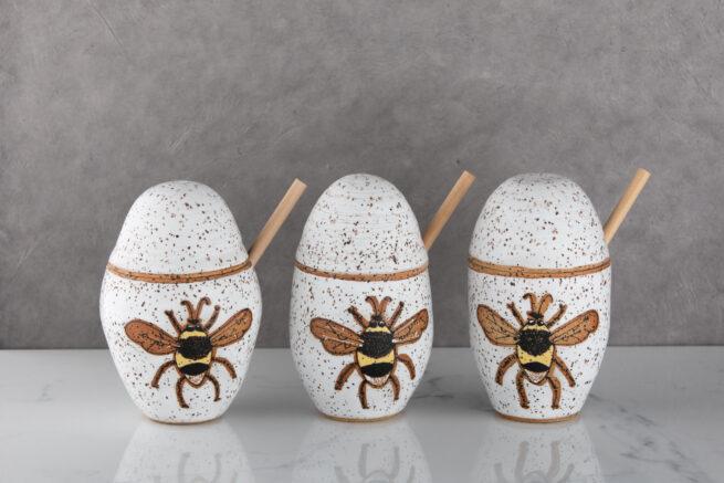 Ezme Designs Honey Pots