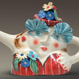 Fancy Lady Teapot