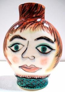 Julia Kirilova Small Face Vase