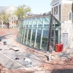 Ott-Construction-Montgomery-County-PA--Commercial-Projects-Custom-Blue-stone-capping-on-concrete-retaining-wall-Ursinus-College