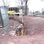 Ott-Construction-Montgomery-County-PA--Commercial-Projects-Pouring-Custom-Concrete-retaining-wall-Ursinus-College