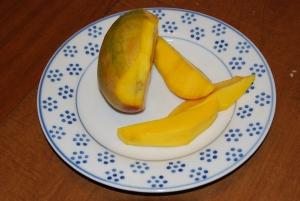 Plate of Mangos