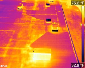 Mod Bit ISO Board Roof Thermal Image