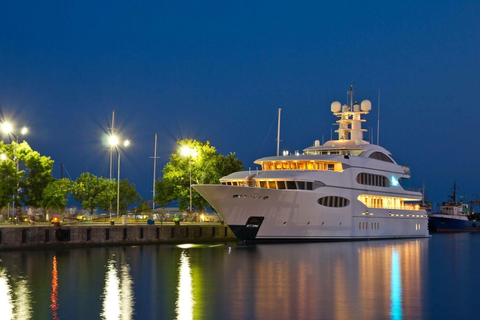 Yacht virtual tour
