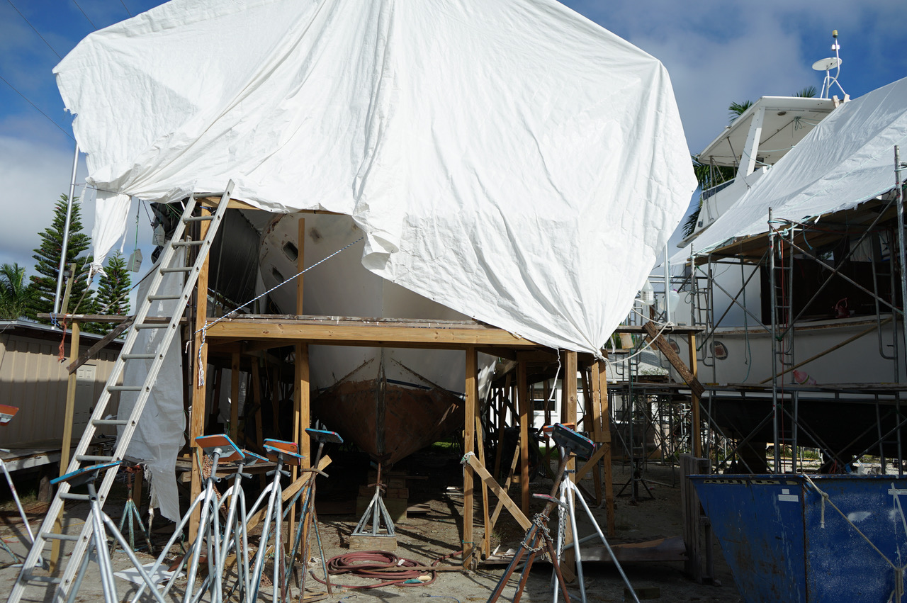 Yacht Wilda refit virtul tour