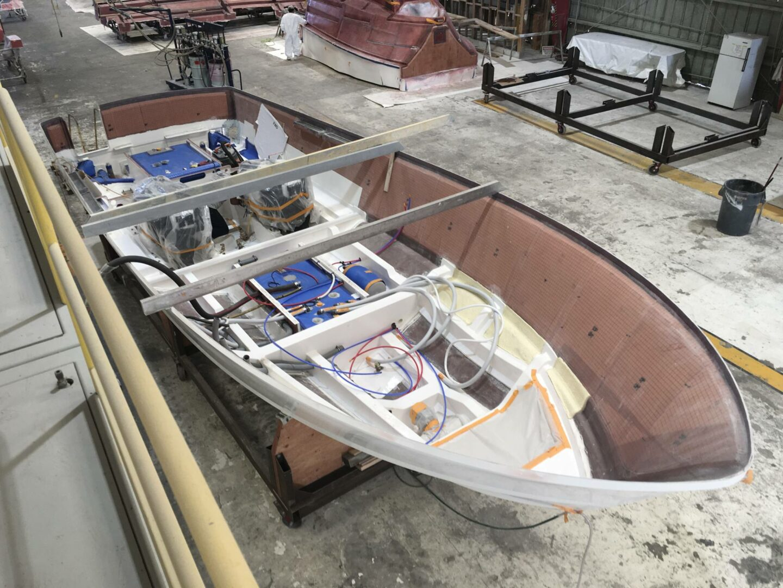 Yacht manufacturer's virtual tour