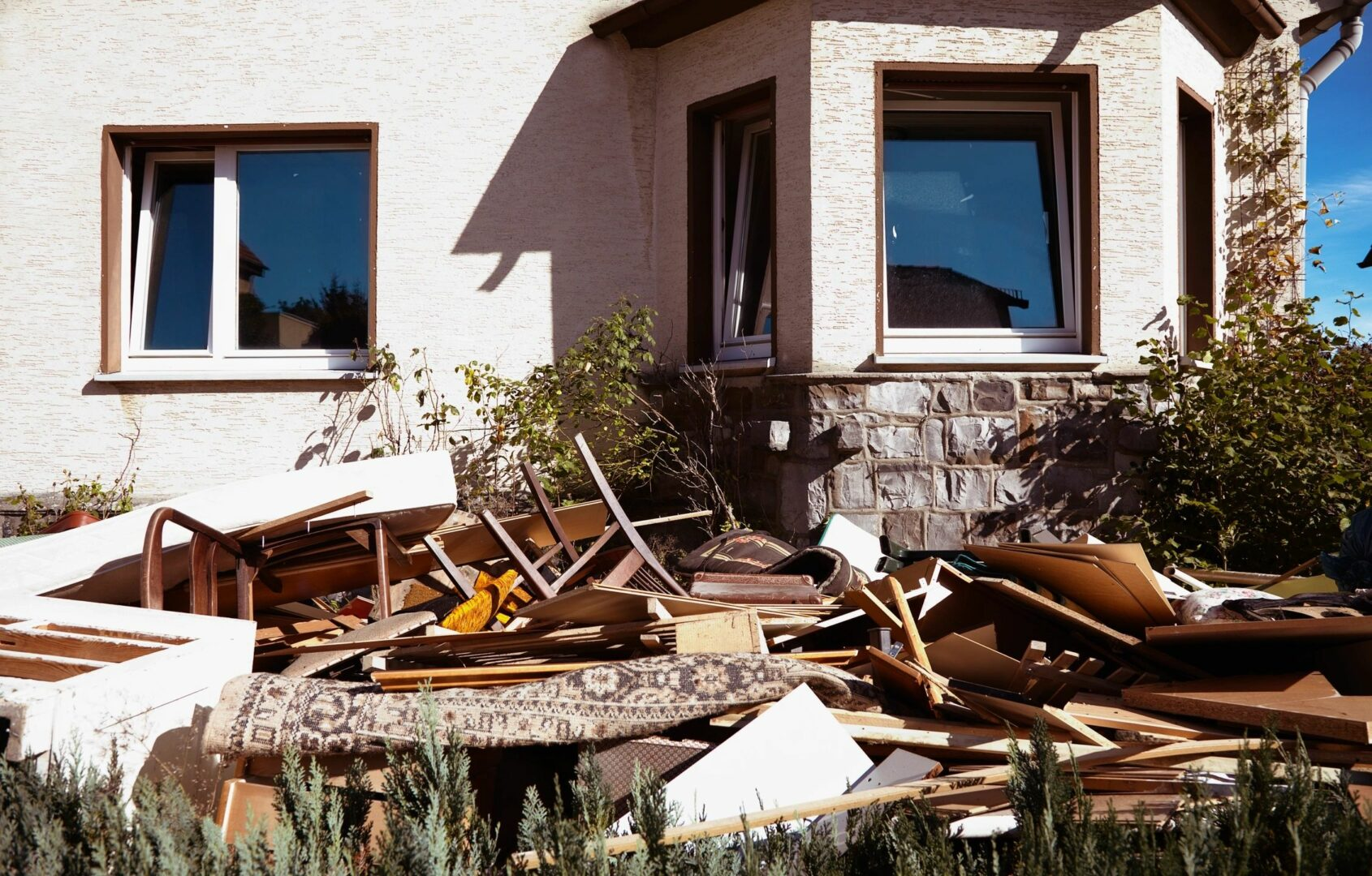 Property insurance documentation photography