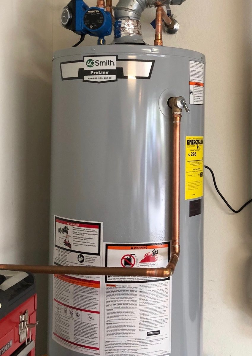 Can I Replace My Gas Water Heater With A Tankless Water Heater