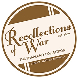 Recollections of War Logo Circle