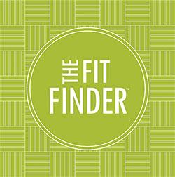The fit finder logo