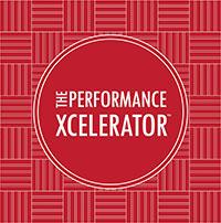 The performance xcelerator logo