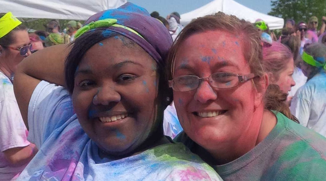 SRG Tupelo Gives Back at the Color Vibe 5K Run Event