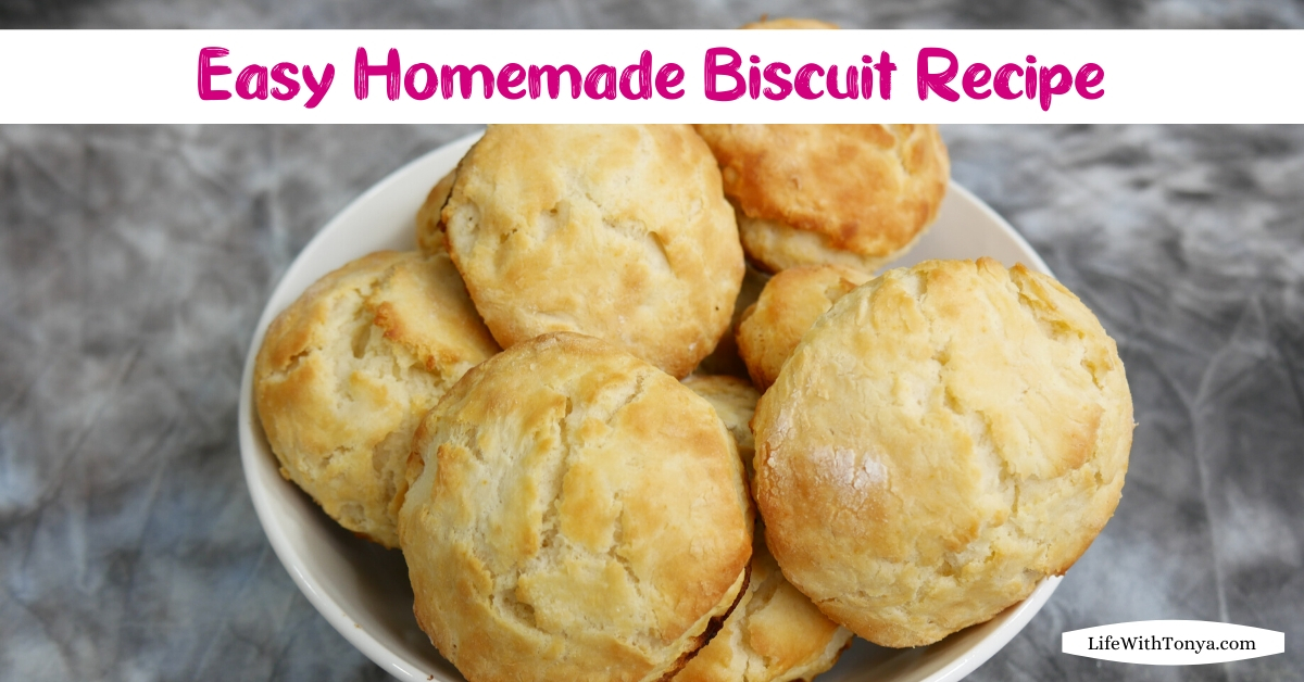 Easy Homemade Biscuit Recipe   Not Your Typical Buttermilk Biscuit Recipe