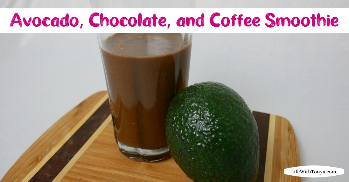 Avocado, Chocolate, and Coffee Breakfast Smoothie | Keto-Friendly Breakfast Smoothie Recipe
