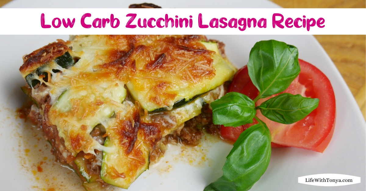 Zucchini Lasagna Recipe | Low Carb Lasagna Recipe