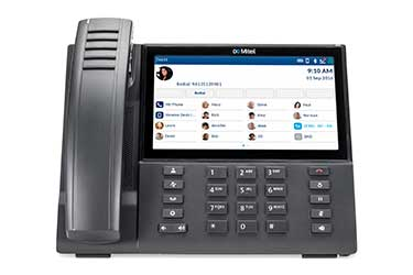 Telecommunication Services Provider with a Mitel 6940 phone